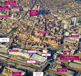 Nottingham Places